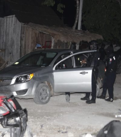 Delincuentes en In House intercambian disparos y se lesionan