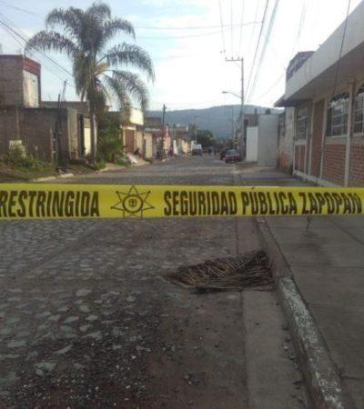 Registra Jalisco cuatro homicidios en lo que va de la mañana de este miércoles