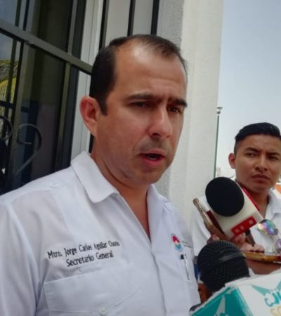 """Transportistas foráneos y comerciantes de """"El Crucero"""" se niegan a reinstalarse en la Región 228, asegura Jorge Aguilar"""