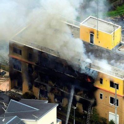 Incendio provocado deja 33 muertos y 36 heridos en Japón