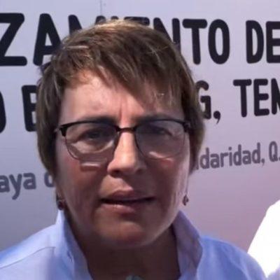 """""""LA GENTE, QUE SE ESTACIONE EN PINTORES"""": Anuncia Laura Beristain que el acceso a Punta Esmeralda cerrará el paso para automovilistas y se convertirá en peatonal"""