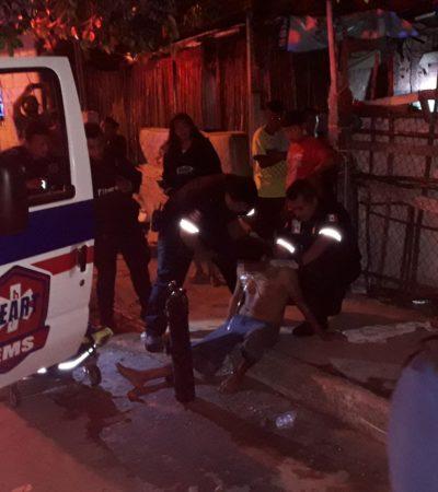 Hieren de bala a hombre en Cozumel por supuesto error