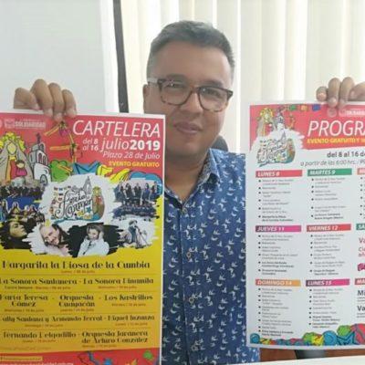 """La Feria del Carmen traerá a Margarita """"La Diosa de la Cumbia"""" y la Sonora Santanera a Playa del Carmen"""