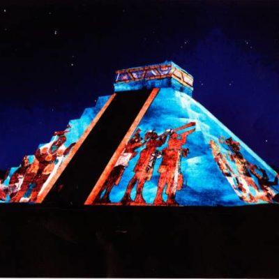 Ofrecen a mitad de precio espectáculo de luz y sonido en Chichén Itzá por avería en equipos de iluminación