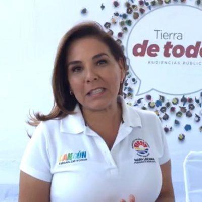 Mara Lezama anuncia la restricción de horarios para la recoja de basura en Cancún