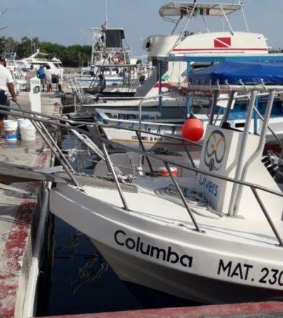 Fonatur comienza a realizar el cobro de uso de rampa y servicios en la Marina de Cozumel