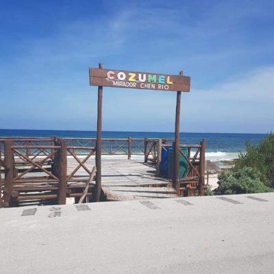Reconoce municipio riesgos en dos miradores en Cozumel