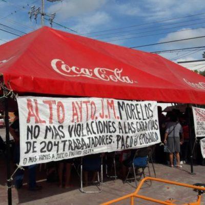 Inicia la reinstalación de 200 ex trabajadores del Ayuntamiento de José María Morelos tras ganar demanda colectiva