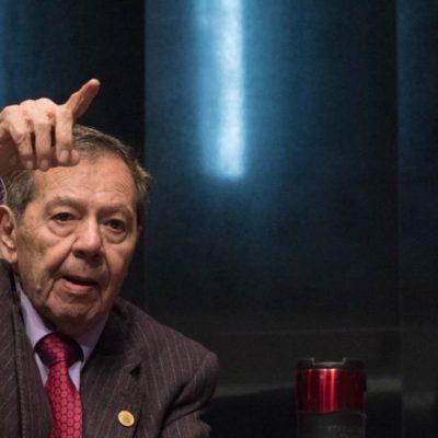 Plantea Muñoz Ledo desaparición de poderes en Baja California para revertir ampliación del mandato de Jaime Bonilla