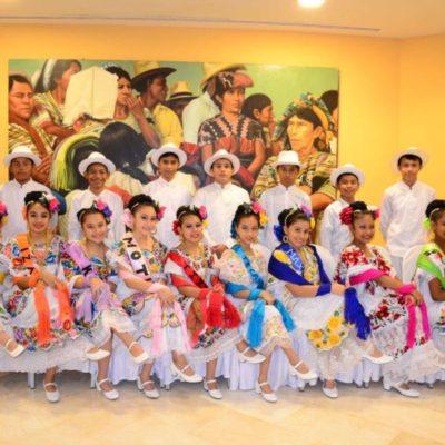 """Integrantes del Ballet Folklórico """"Los Niños Mayas de Cancún"""" realizarán viaje a Suecia para promocionar la cultura local"""