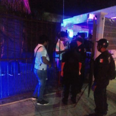 Ponen lupa en fiestas clandestinas en Cozumel