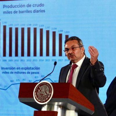 Reducirán carga fiscal a Pemex por 128 mmdp durante estos primeros tres años de gobierno