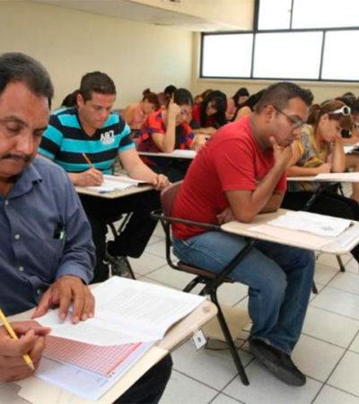 Entregará SEP plazas docentes previo 'palomeo' del SNTE y la CNTE; evaluación será solo 'diagnóstica'