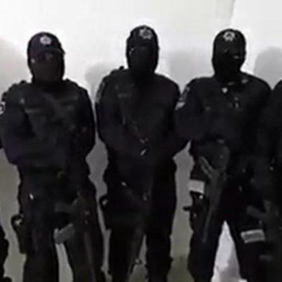 VIDEO | Presuntos policías denuncian vínculos de mandos con delincuentes en Tabasco