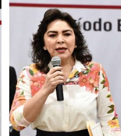 Debatirán hoy por la dirigencia nacional del PRI; Alejandro Moreno, Ivonne Ortega y Lorena Piñón