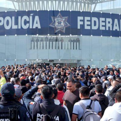 Sesiona el CNSP entre dos crisis: el incremento de la violencia y la insubordinación de la Policía Federal