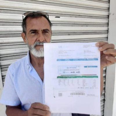 Activista de Chetumal detecta errores en medidores que provocan altas tarifas de CFE
