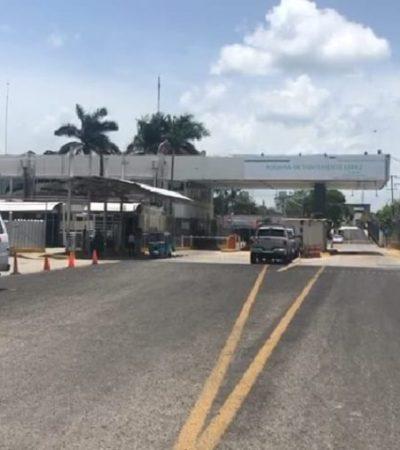 Inician pruebas para la reapertura al tránsito vehicular en el puente fronterizo de Subteniente López