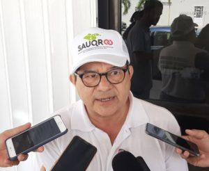 """Integrantes del Sauqroo protestan afuera de los tribunales federales de Chetumal por """"tortuguismo"""" judicial"""