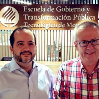 Dos días sin empleo… Urzúa dará clases en el Tec de Monterrey; lo recibe un exsecretario de gobernación