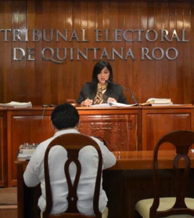 Teqroo declara inexistentes las acusaciones por violación de la ley electoral contra Tyara Schleske y Jesús Zetina