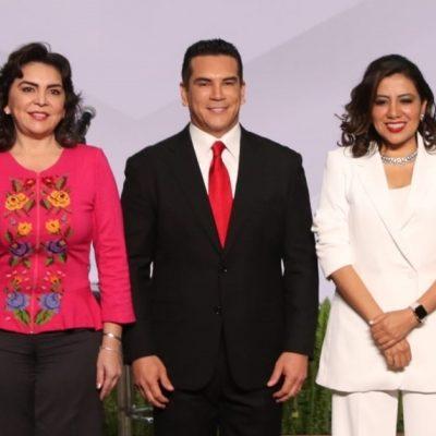 Aventaja Alejandro Moreno a Ivonne Ortega y a Lorena Piñón rumbo a dirigencia del PRI, según encuesta