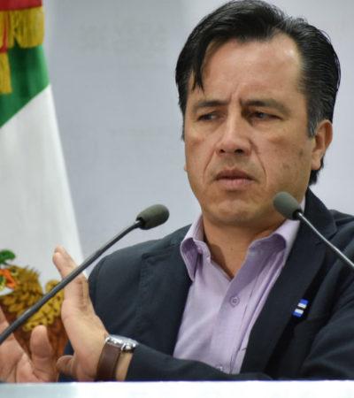 CASO 'MINATITLÁN': Acusa Cuitláhuac García al fiscal del estado de intimidación por citarlo a declarar