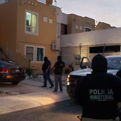 Hallan droga y detienen a extranjera en cateo en Villas del Sol