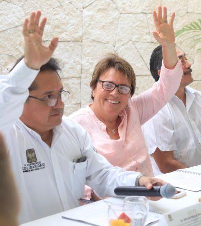 Preside Alcaldesa sesión extraordinaria del DIF donde aseguran se atendieron a 34 mil 411 personas en Solidaridad