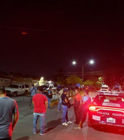 REPORTAN PRESUNTO 'LEVANTÓN' MÚLTIPLE EN CANCÚN: Confirma Fiscalía que 27 personas fueron sacadas de un domicilio usado como oficinas de un 'call center' en la SM 524