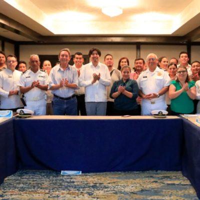 Acuerda Ayuntamiento de Solidaridad y científicos mecanismos para proteger a la tortuga marina