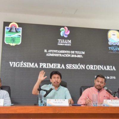 Cabildo de Tulum aprueba recibir cuatro vehículos en donación