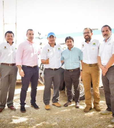 Anuncian inversiones para mejorar servicios de agua potable y drenaje en Tulum