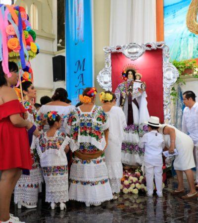 Empieza Feria del Carmen para disfrute de las familias playenses