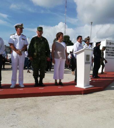 Asegura Laura Beristain que mantienen la coordinación con el gobierno estatal en materia de seguridad