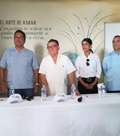 Promueven ante autoridades el proyecto Playa Xhero que busca erradicar el problema del sargazo a través microorganismos