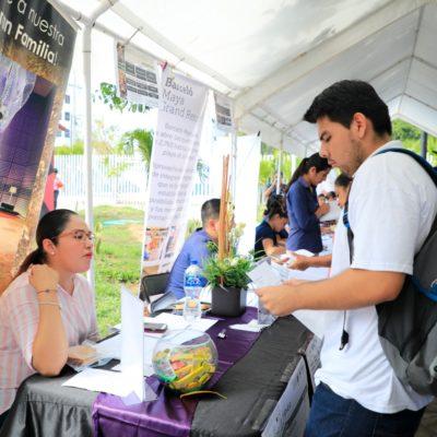 Ofertan mil 500 plazas de trabajo en Feria del Empleo en Playa del Carmen