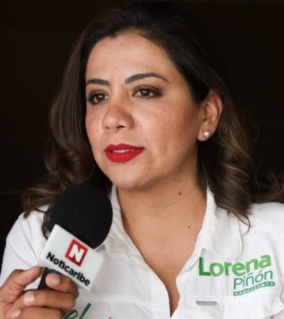 """""""TRATA DE HACERSE LA VÍCTIMA"""": Asegura Lorena Piñón que ataques internos de Ivonne Ortega son sólo para 'planchar' su salida del PRI"""