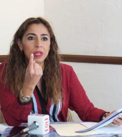 Marybel Villegas presentará denuncia ante FGR contraConagua y CAPA por omisiones ante presuntas irregularidadesde Aguakan
