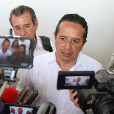 """""""DECIR QUE NO HAY NADA ES DE IGNORANCIA TOTAL"""": Responde Carlos Joaquín ante señalamientos de omisión y tolerancia ante presuntos abusos por parte de Aguakan"""