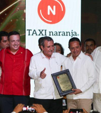 Taxistas reconocen al Gobernador por no permitir que el servicio de transporte se otorgue fuera del marco legal