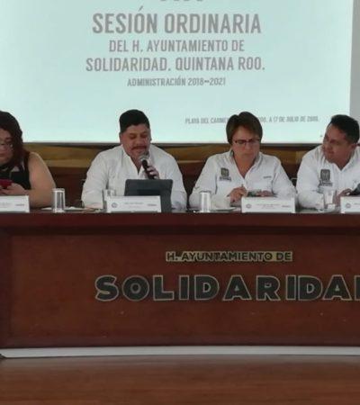 Regidores de Solidaridad reclaman a Laura Beristain falta de transparencia en contratos con Grupo Arco e irregularidades de PASA