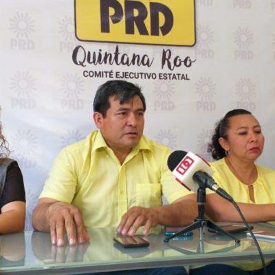 """""""Preocupante que se autorice mayor presupuesto para Benito Juárez y no se priorice la obra pública"""", critican perredistas"""