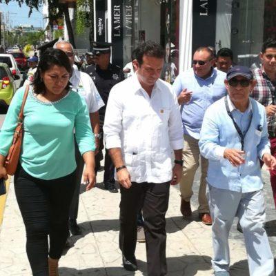 """""""Delitos de alto impacto han disminuido gracias a la coordinación de fuerzas policíacas en Cozumel"""", asegura Pedro Joaquín"""