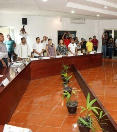 Por segunda ocasión, Sergio Zapata Vales toma protesta como regidor en el Cabildo de OPB, tras destitución de Manuel Valencia Cardín