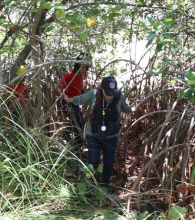 Realizan operativo de búsqueda en área de manglar del kilómetro 27 de la zona hotelera de Cancún donde podría encontrarse el cuerpo de un estudiante regio que desapareció la semana pasada en la discoteca Palazzo