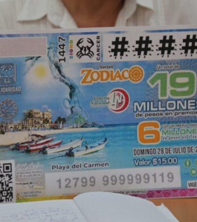 La imagen de Playa en el billete de lotería es positivo, pero se requiere de algo integral para promocionar al destino, afirma Pablo Alcocer