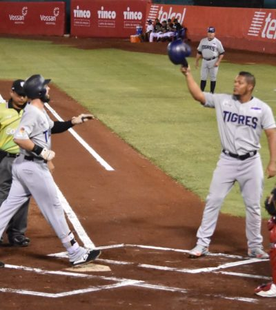 TIGRES HUNDE NAVE PIRATA: Jorge Luis Castillo tuvo otra salida de calidad y Quintana Roo empata la serie al vencer 16-2 a Campeche
