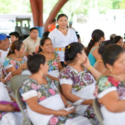 CELEBRAN EL DÍA NARANJA EN LA ZONA MAYA DE TULUM: Realizan conferencia sobre los derechos de la mujer indígena