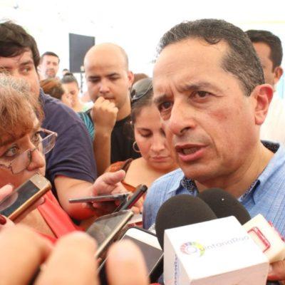 Anuncia Carlos Joaquín que encabezará comitiva para hablar sobre avances de seguridad en QR ante el Departamento de Estado de EU
